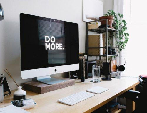 Vijf tips om uw thuiskantoor in te richten zodat u zo productief mogelijk bent.